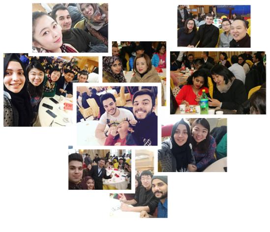 Winter Sunshine—International Students Joined Homestay Families-国际